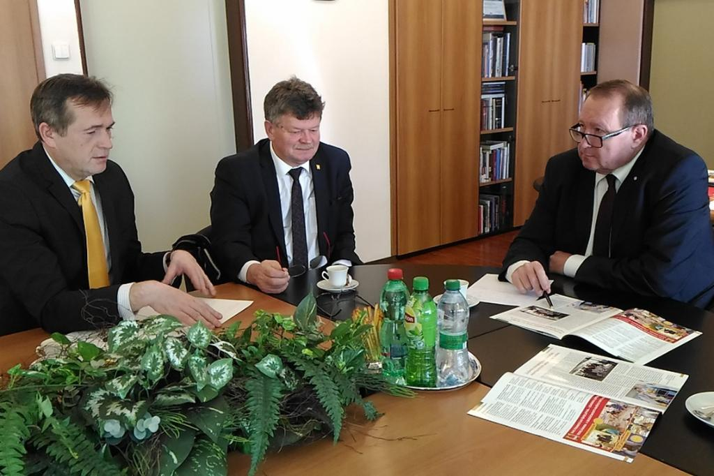 Discussion with representatives of the Trade Union of Workers in Education and Science of Slovakia