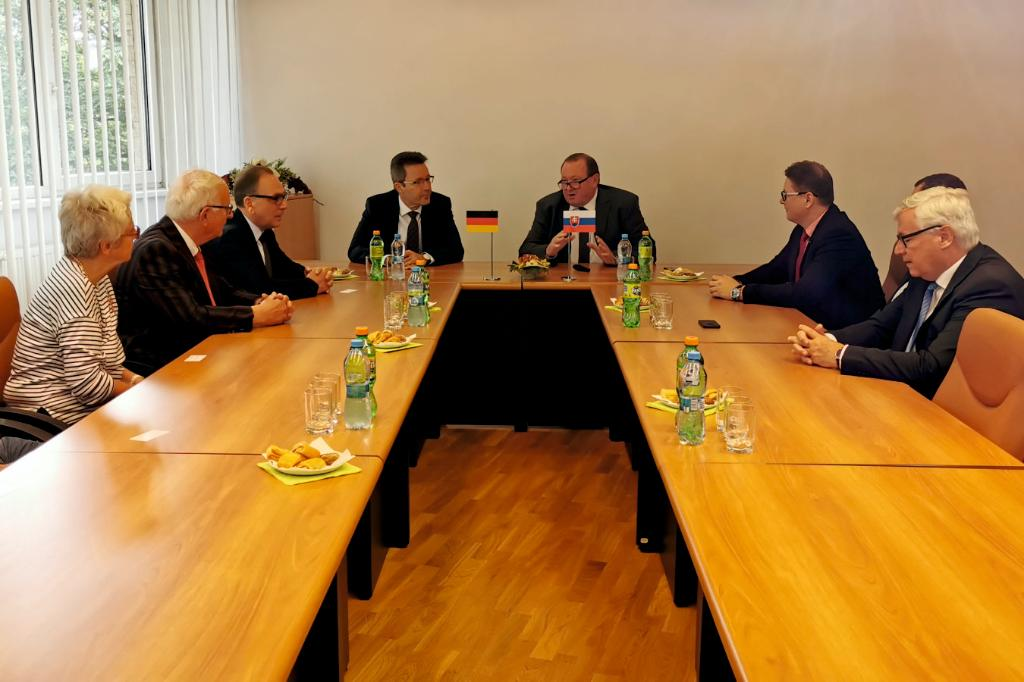 Friendly meeting with representatives of the city of Wuppertal